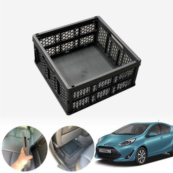 프리우스C(18~) 모비스순정 접이식 트렁크정리함 차량용품 cs14025
