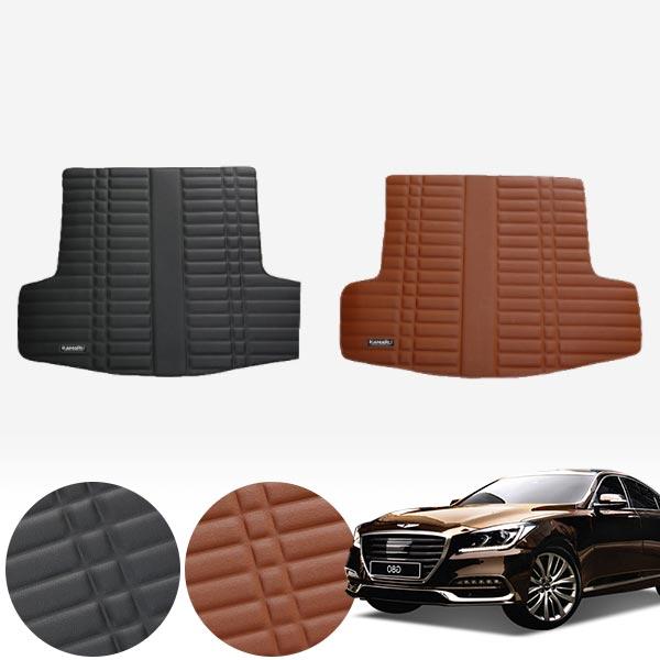 G80 (16/8~19) 가죽 트렁크 매트 PMR-007 cs01064 차량용품
