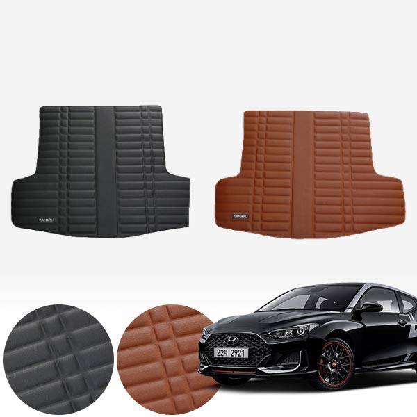 벨로스터N (18~현재) 가죽 트렁크 매트 PMR-007 cs01070 차량용품