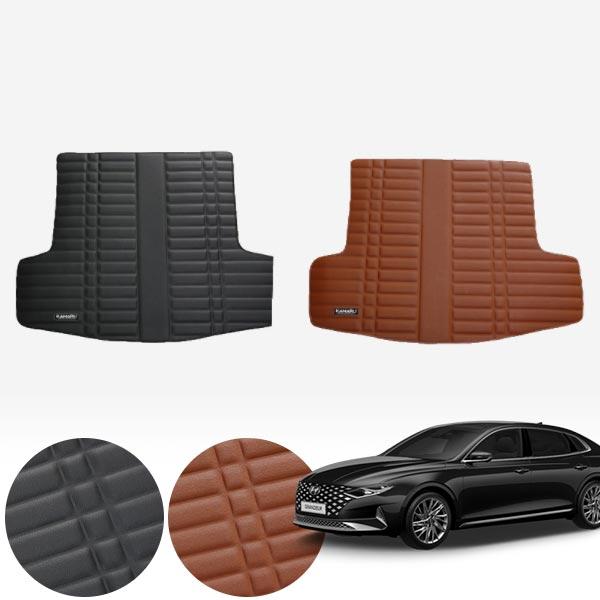 더뉴그랜저 LPG (19/11~현재) 가죽 트렁크 매트 PMR-007 cs01079 차량용품