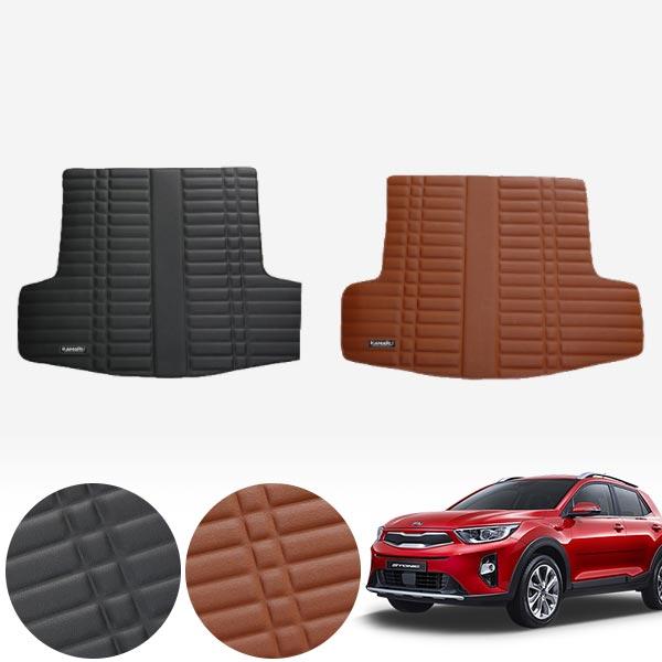 스토닉 가죽 트렁크 매트 PMR-007 cs02061 차량용품