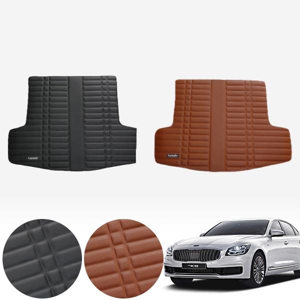 더 K9 (18/4~현재) 가죽 트렁크 매트 PMR-007 cs02064 차량용품