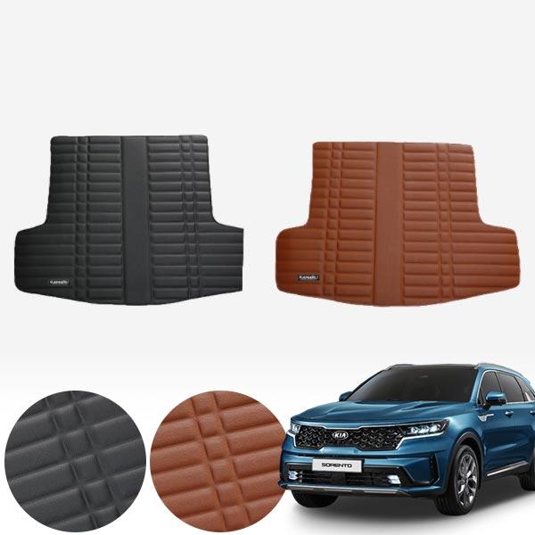 4세대 쏘렌토 6인승 (20/3~현재) 가죽 트렁크 매트 PMR-007 cs02070 차량용품
