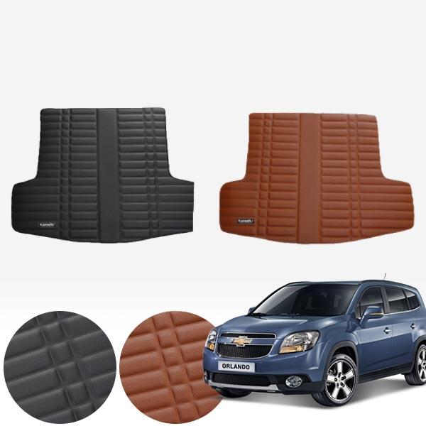 올란도 가죽 트렁크 매트 PMR-007 cs03026 차량용품
