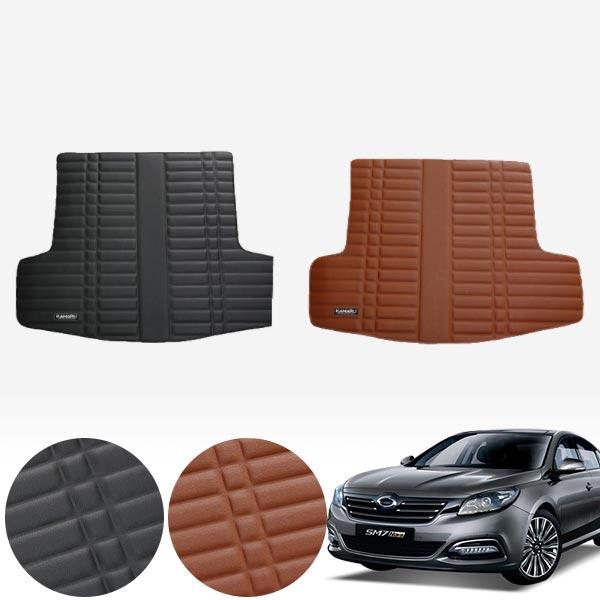 올뉴SM7 (12~20) 가죽 트렁크 매트 PMR-007 cs05012 차량용품