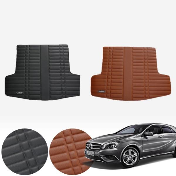 W176 (12~18) 가죽 트렁크 매트 PMR-007 cs07001 차량용품