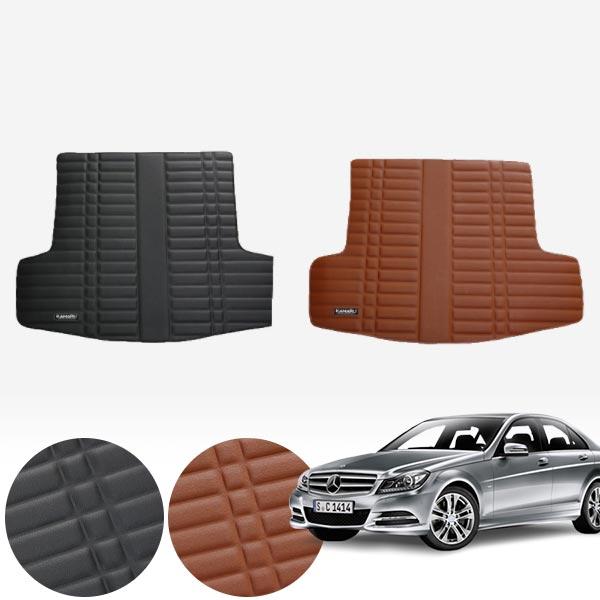 W205 세단 (15~현재) 가죽 트렁크 매트 PMR-007 cs07035 차량용품