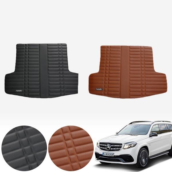 X166 (16~19) 가죽 트렁크 매트 PMR-007 cs07038 차량용품