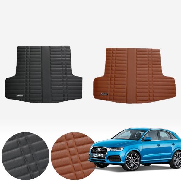 Q3 (12~18) 가죽 트렁크 매트 PMR-007 cs08011 차량용품