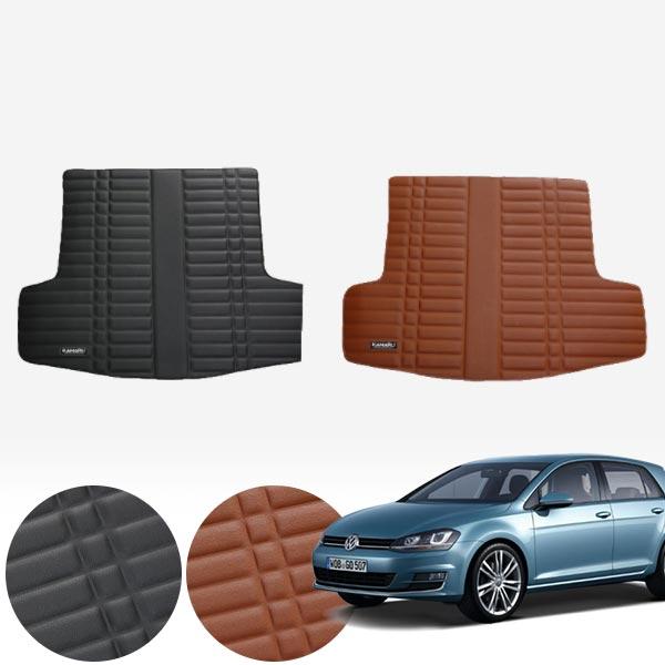 골프 7세대 (13/8~현재) 가죽 트렁크 매트 PMR-007 cs09021 차량용품