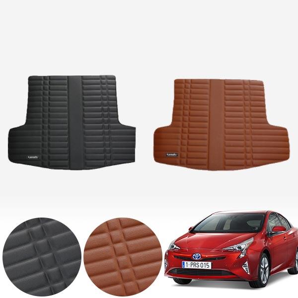 프리우스 4세대 (16~현재) 가죽 트렁크 매트 PMR-007 cs14023 차량용품