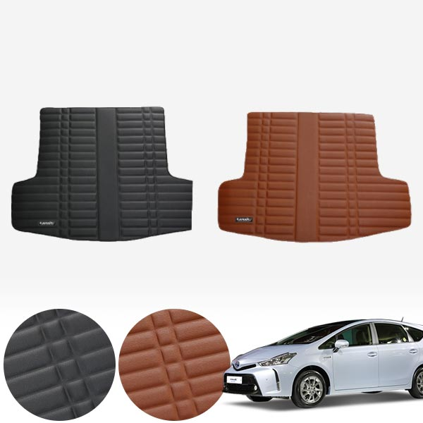 프리우스V 가죽 트렁크 매트 PMR-007 cs14024 차량용품
