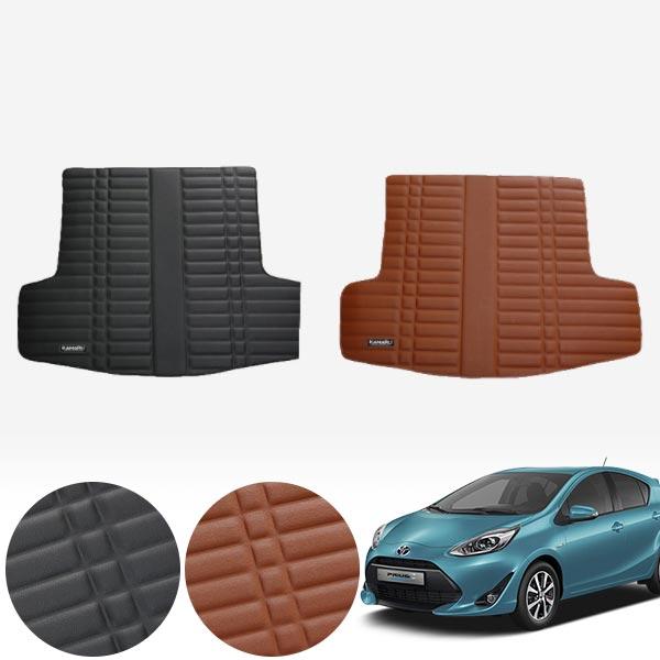 프리우스C 가죽 트렁크 매트 PMR-007 cs14025 차량용품