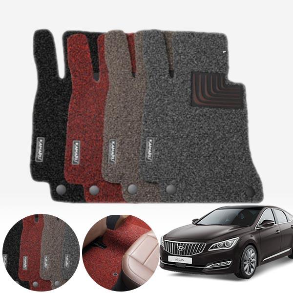 아슬란 내츄럴 코일매트 1+2열 PMR-025 cs01054 차량용품