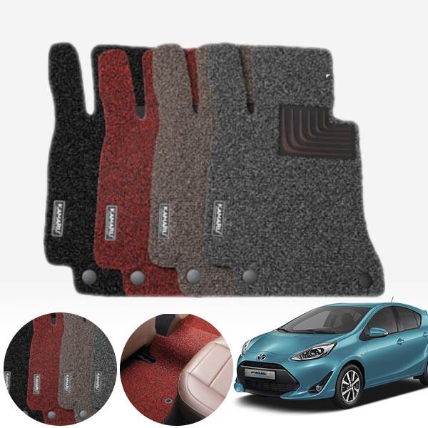 프리우스C 내츄럴 코일매트 1+2열 PMR-025 cs14025 차량용품