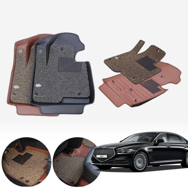 G90 2륜 6d입체 카매트 1+2열 PMR-031 cs01077