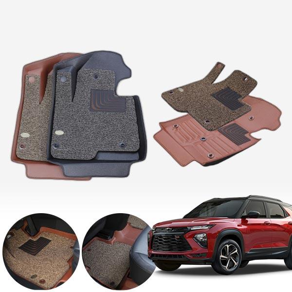 트레일블레이저 4륜 6d입체 카매트 1+2열 PMR-031 cs03043