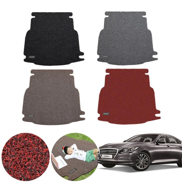 제네시스DH (13~16/7) 코일 트렁크 매트 PMR-050 cs01056 차량용품