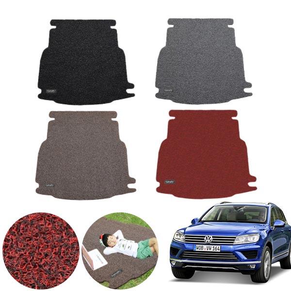 뉴 투아렉 2세대 (16~18) 코일 트렁크 매트 PMR-050 cs09020 차량용품