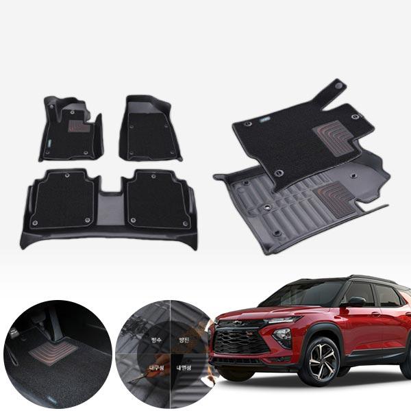트레일블레이저 4륜 듀라 입체 카매트 1+2열 PMR-056 cs03043