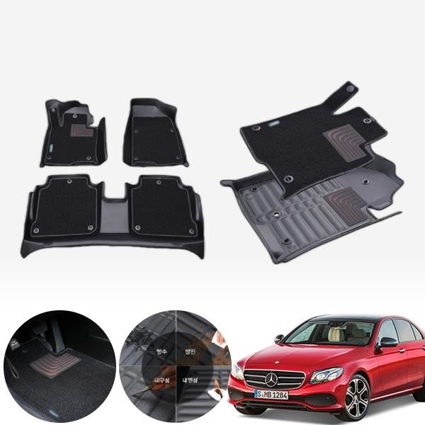 W213 (16/7~20/9)  듀라 입체 수입차 카매트 1+2열 PMR-056 cs07034