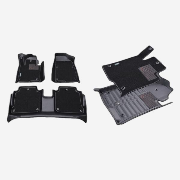 GV70 듀라 입체 카매트 1+2열 PMR-056 cs01082