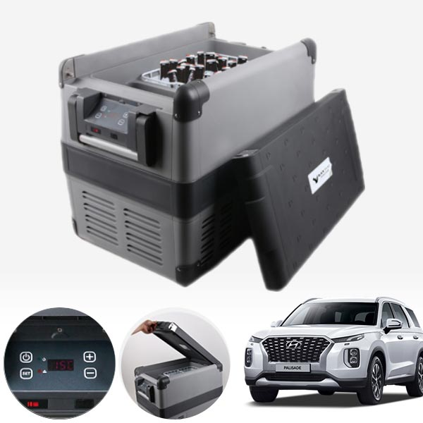 팰리세이드 차량용 스마트디스플레이 냉동냉장고 45L PMT-2917 cs01075 차량용품