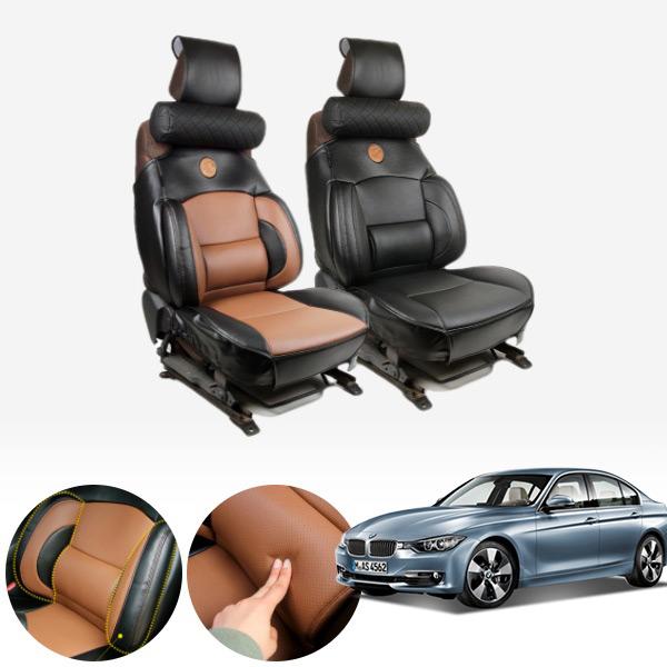 3시리즈(F30)(11~18) 누브리노 브라운 버킷시트 넥쿠션 세트 PMT-3295 cs06038 차량용품