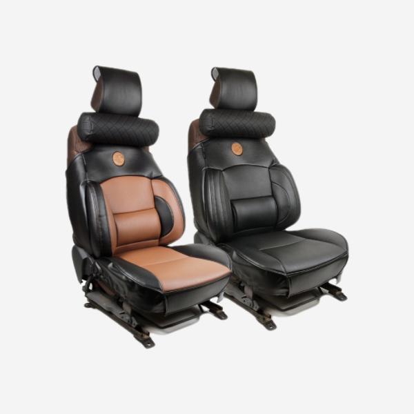 전차종공용' 누브리노 브라운 버킷시트 넥쿠션 세트 PMT-3295 cs41001 차량용품