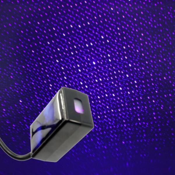 전차종공용' 갤럭시 자동변환 별빛 블루 LED 무드등 (USB) PSH-8350 cs41001 차량용품