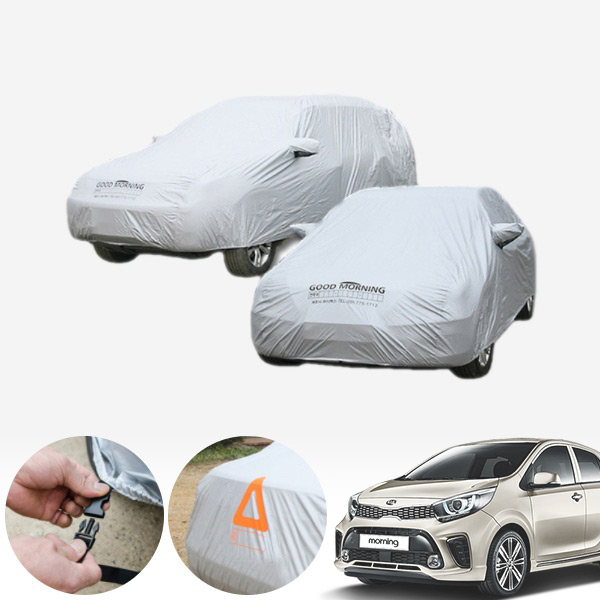 올뉴모닝2017 (1호) 국내산 하이퀄리티 바디커버 자동차커버 PUB-0167 cs02062