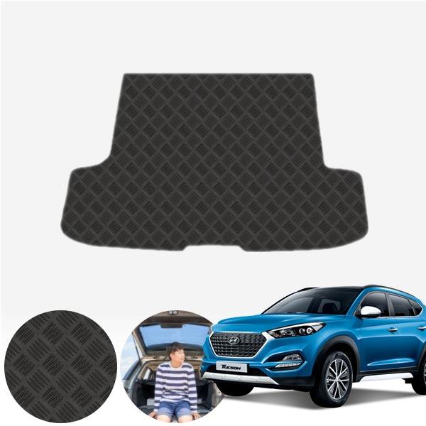 올뉴투싼 트렁크 논슬립 고무매트 PUB-0213 cs01058