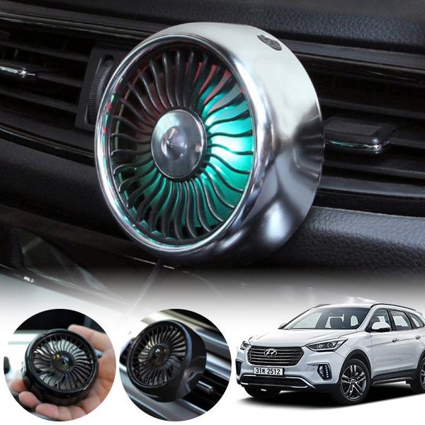 맥스크루즈 차량용 LED 에어 서큘레이터 선풍기 PWM-1145 cs01051 차량용품