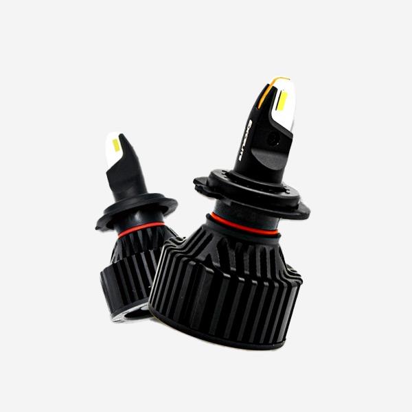 전차종공용' LED 전조등 H7 합법 좌우세트 PWR-0086 cs41001 차량용품