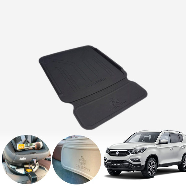 렉스턴(G4)' 카몽 카시트 논슬립 실리콘 패드 PXO-2100574 cs04016 차량용품