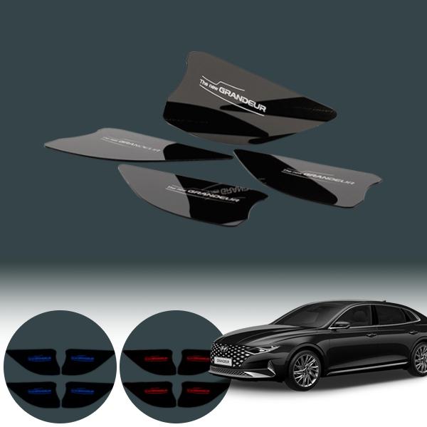 현대 더뉴그랜져 도어캐치 LED플레이트 / 4조각 PKP-1834 cs01079 차량용품