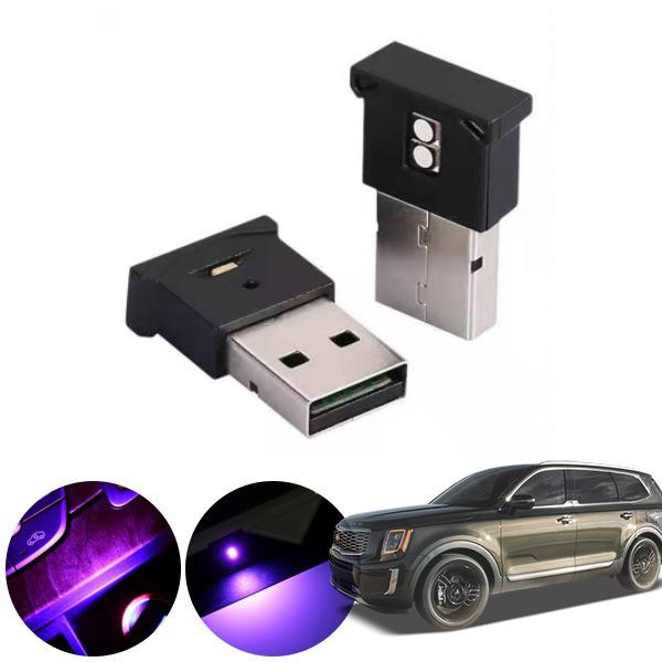 텔루라이드 USB 엠비언트 LED PKP-2062 cs02066 차량용품