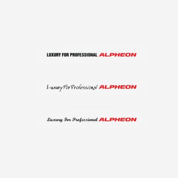 알페온-슬로건 데칼 300mm PZB-0518 cs03022 차량용품