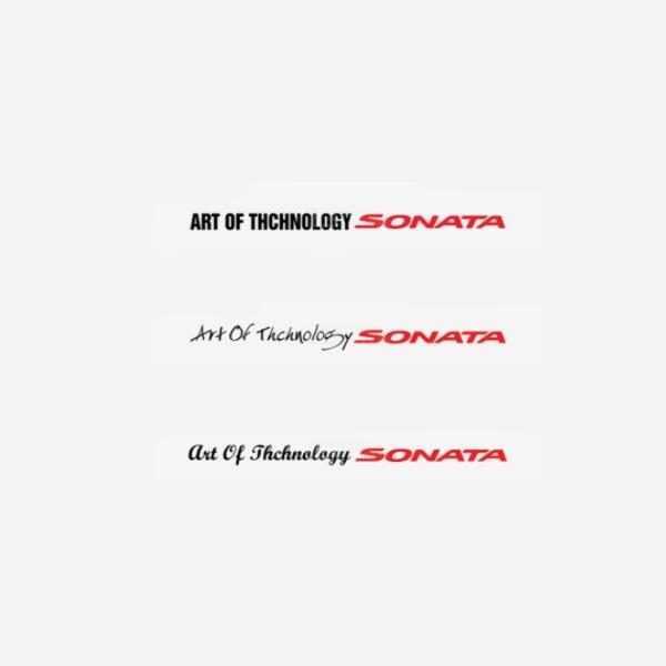 쏘나타-슬로건 데칼 500mm PZB-0551 cs01076 차량용품