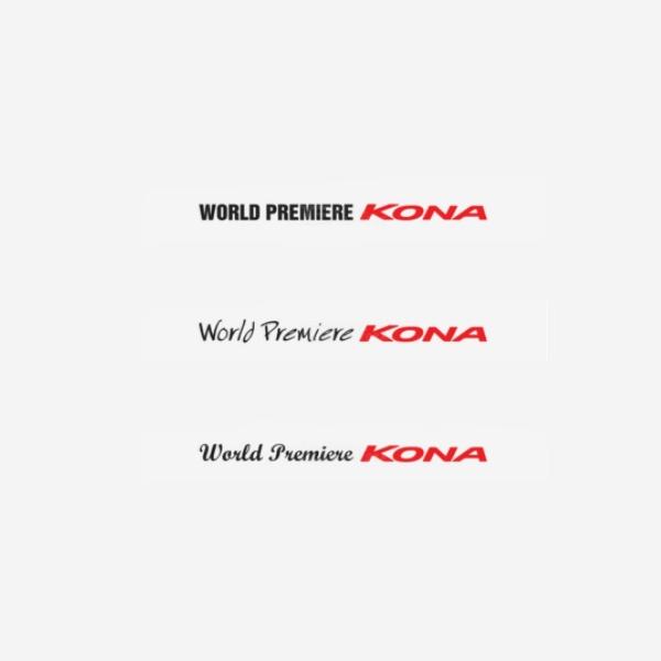 코나-슬로건 데칼 500mm PZB-0540 cs01067 차량용품