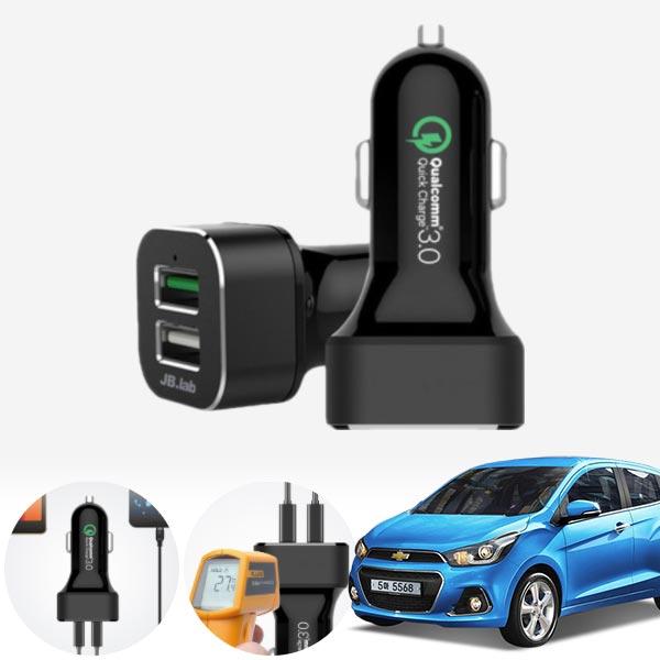 스파크(더넥스트)(15~) USB 2구 급속충전기 cs03033 차량용품