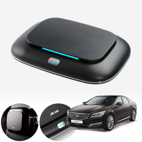 아슬란 브러쉬리스 저소음 공기청정기 cs01054 차량용품