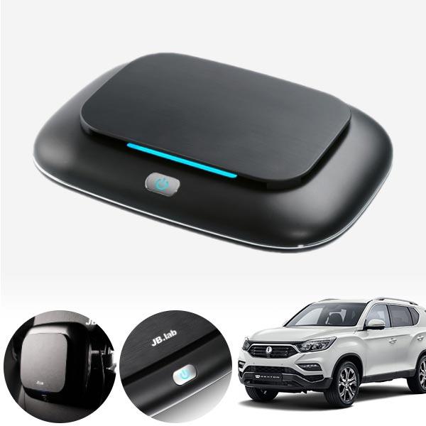 렉스턴(G4) 브러쉬리스 저소음 공기청정기 cs04016 차량용품