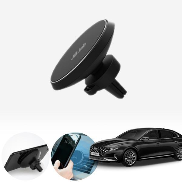 그랜저ig2020 써클 무선충전 마그넷 거치대 cs01079 차량용품