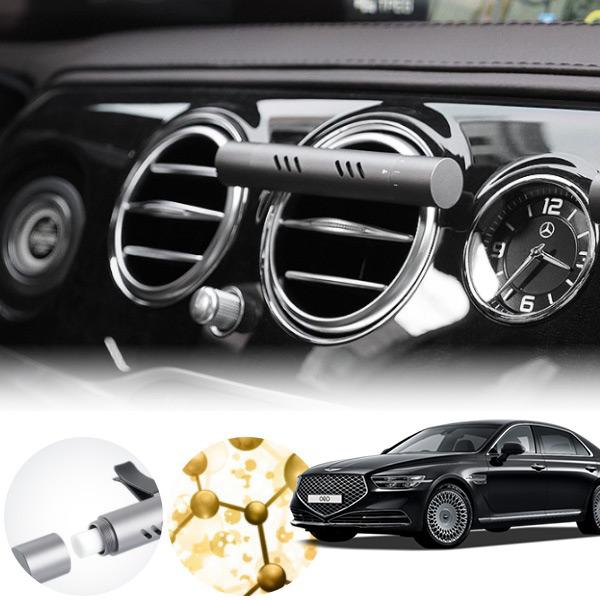 제네시스 G90 클립형 알루미늄 럭셔리방향제 cs01077 차량용품