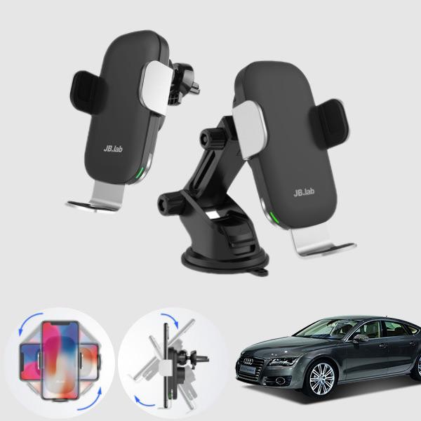A7(4G8)(10~17) 무소음 무선충전 스마트폰 거치대 cs08008 차량용품