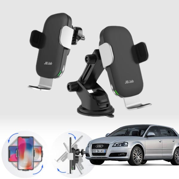 A3(8V)(13~) 무소음 무선충전 스마트폰 거치대 cs08028 차량용품