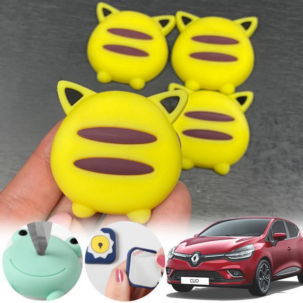 클리오 유카 노랑궁디 도어가드 4p cs05015 차량용품
