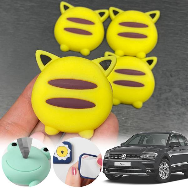 티구안(더뉴)(18~) 유카 노랑궁디 도어가드 4p cs09018 차량용품