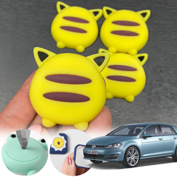 골프(7세대)(14~) 유카 노랑궁디 도어가드 4p cs09021 차량용품